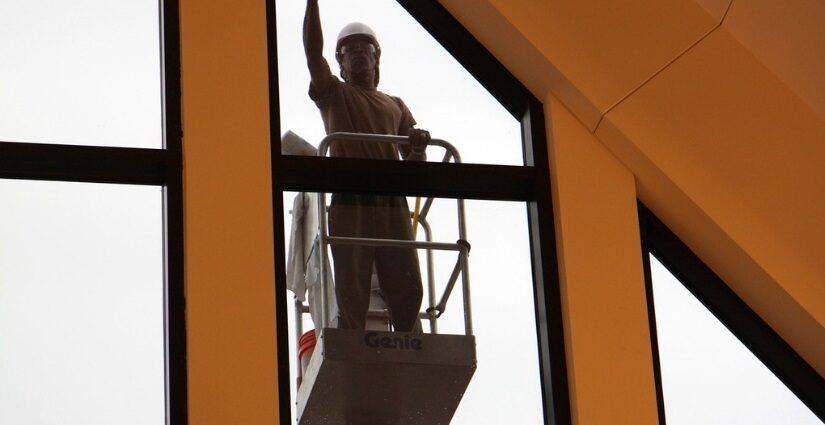 professional window washing