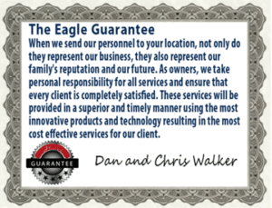 Eagle Janitorial Guarantee