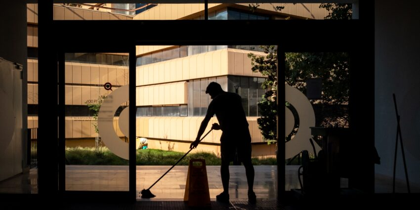 Commercial cleaning services you can count on.